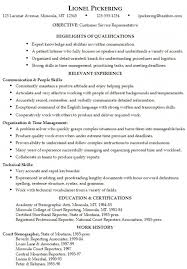 an example of a good resume a good resume example