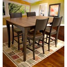 amerihome 60 in x 38 in maple hardwood dinning table set with