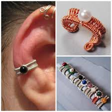 how to make ear cuffs the jewelry trend learn how to make ear cuffs