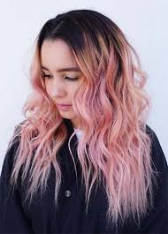 older women with platinum blonde pink hair 65 rose gold hair color ideas for 2017 rose gold hair tips