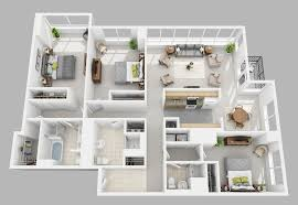 three bedroom apartments floor plans the st james residential rentals philadelphia pa