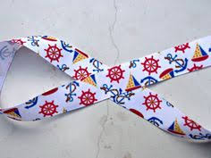 Nautical Themed Ribbon - white stars on navy 3 8 inch grosgrain ribbon4th by isamaydesigns