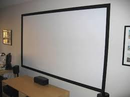 diy projector screen part ii goo it yourself bigpicturebigsound