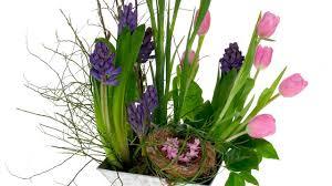 Flower Arrangement Techniques by Spring Landscape Floral Design Youtube