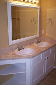 How To Tile A Bathroom Countertop - travertine countertops design ideas pros u0026 cons and cost sefa