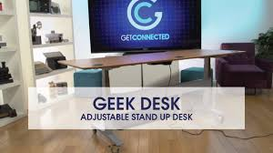 assembling the geekdesk max motorized sitting standing desk