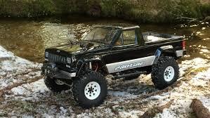 jeep brute black jeep comanche axial scx10 black forest adventure hd youtube
