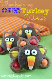 chocolate covered oreo turkey recipe thanksgiving food craft