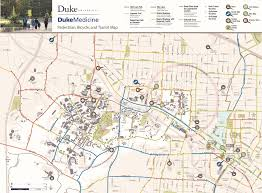 Nc State Campus Map Duke Parking And Transportation Bicycling At Duke