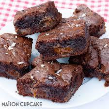 dulce de leche brownies panasonic maison cupcake