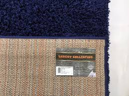 Navy Blue Rug Amazon Com Rugstylesonline Shaggy Collection Shag Area Rugs 3 U00273