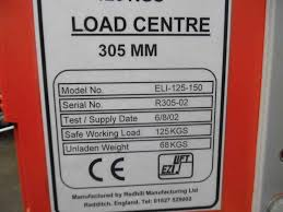 others used other machines ezi lift eli 125 150 manual lifter