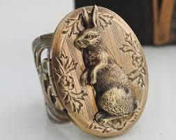 antique rabbit ring holder images Bunny ring etsy jpg