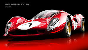 ferrari art 1967 ferrari 330 p4 by dymhl on deviantart