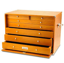 keep your easy to lose garage gear in a cool wooden tool chest