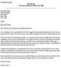 sample assistant teacher cover letter create my cover letter