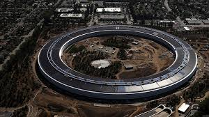 watch apple u0027s new u0027spaceship u0027 campus get built in just one minute