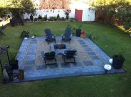 How To Build A Backyard Patio by 25 Best Slate Patio Ideas On Pinterest Paving Stone Patio