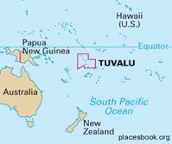 map of tuvalu tuvalu yfc pacific