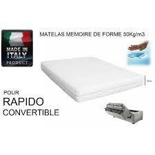 matelas pour canapé matelas pour convertibles rapido au meilleur prix matelas memory