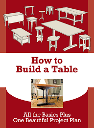 learn how to build a table u0026 up your furniture making skills