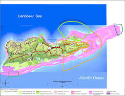 map of st 3 map of st croix shows location of coral reefs