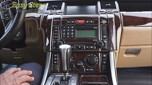 land rover wooden upgrade range rover sport interior standard to premium package