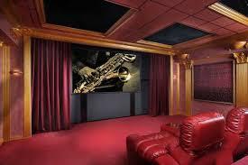 home theatre decoration ideas classy design shutterstock