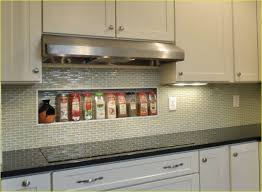 modern home interior design kitchen glass mosaic backsplash tile
