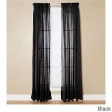 Black Sheer Curtains Sheer Black Curtain Panels Gopelling Net