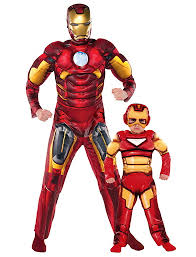Iron Man Halloween Costume Coordinating Halloween Costumes Families Parent Society