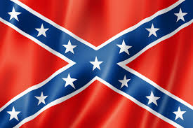 Black And White Rebel Flag Defending The Confederate Flag Anc Report