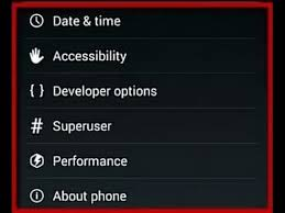 android developer options how to enable disable developer option android