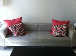 Red Pillows For Sofa by Modern Contemporary Throw Pillows For Couch All Contemporary Design