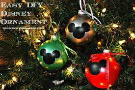 When Is Disney Decorated For Christmas 20 Diy Disney Ornaments