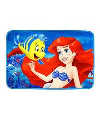 Disney Bath Rug Disney Princess Ariel The Mermaid Memory Foam Bath Rug