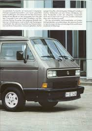 volkswagen vanagon 1987 thesamba com vw archives 1987 vw vanagon caravelle brochure