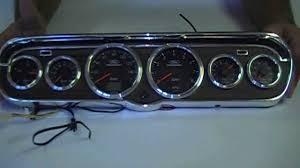 1965 1966 mustang 6 instrument cluster hye po deluxe bezel