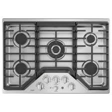 Wolf Gas Cooktop 30 30 In Gas Cooktops The Home Depot Cooktop Kitchenaid Kcgs550ess 5