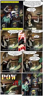 Han Shot First Meme - greedo shoots first critical miss the escapist