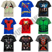 Boys Halloween T Shirts by Costume T Shirt Halloween Avengers Gi Joe Ghost Busters Hulk Thor