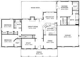 split bedroom floor plan split bedroom layout 4987k architectural designs house plans