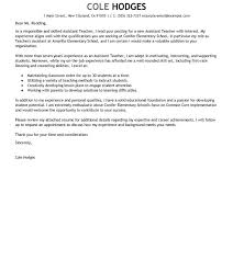 resume templates for teachers best assistant cover letter exles education emphasis