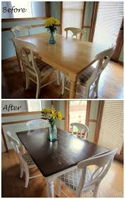 Best  Refinished Dining Tables Ideas On Pinterest Refurbished - Refinish dining room table