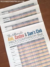 the ultimate aldi costco u0026 sam u0027s club comparison chart