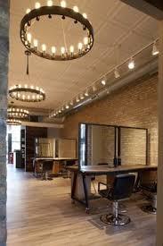 Salon Lighting Fixtures by The Klinik Hair Salon Block Architecture Salons Architecture