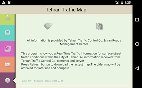 Tehran Map Tehran Traffic Map Android Apps On Google Play