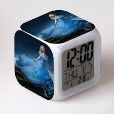 aliexpress com buy cinderella alarm clock despertador digital