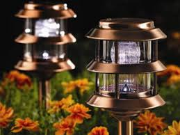 Solar Lights How Do They Work - how to illuminate your yard with landscape lighting hgtv
