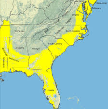 Map Of United States East Coast by Heavy Mineral Sand Resources In The Southeastern U S Usgs